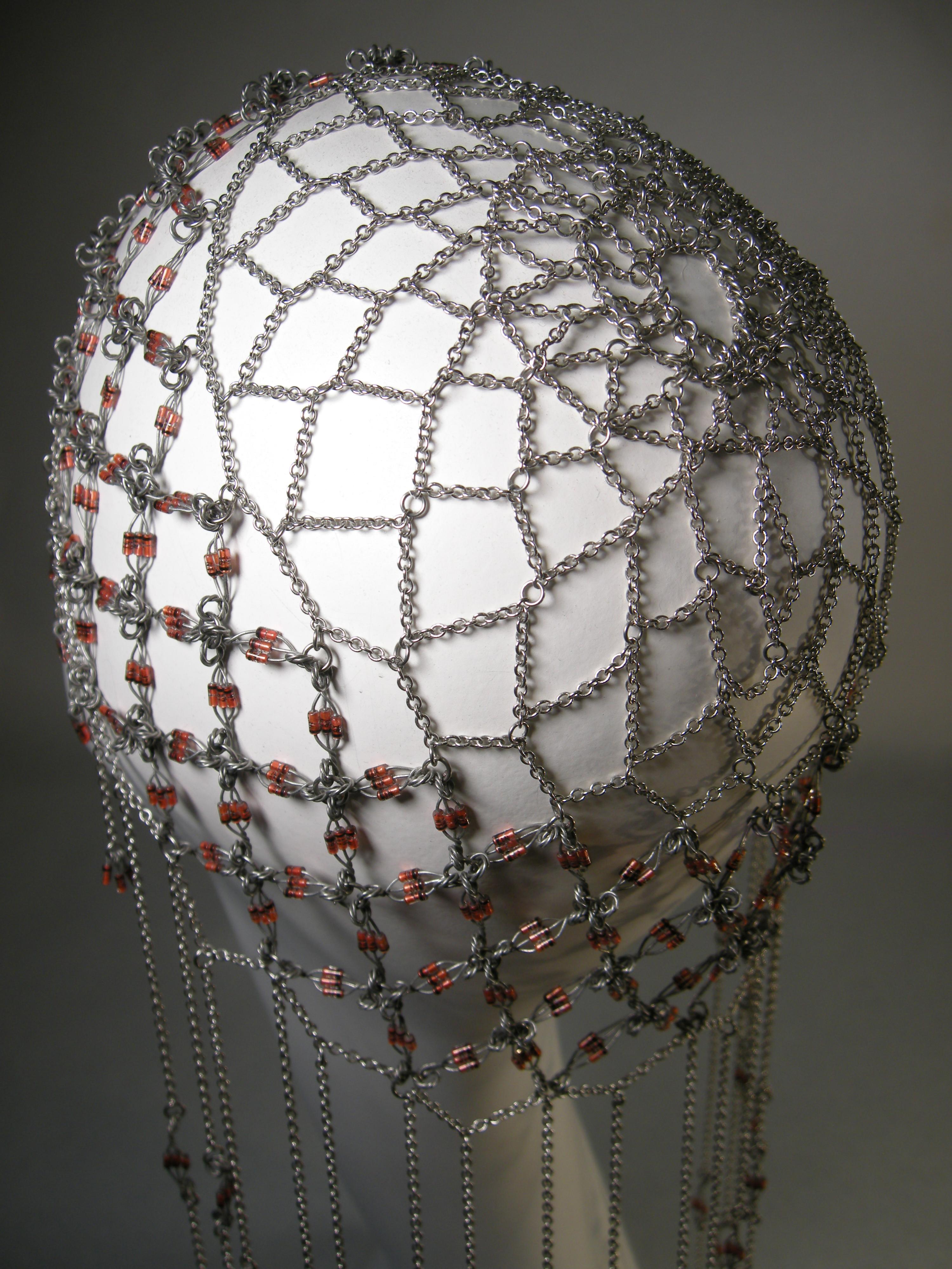Diode Headdress Back
