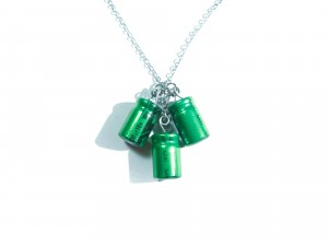 Green Capacitor Jewelry & 15% off now until Valentine's Day