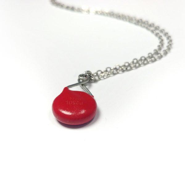 Red Varistor Necklace
