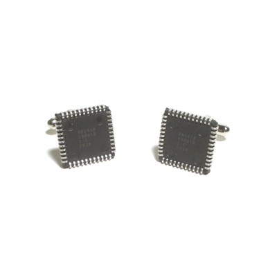 Microcontroller Cufflinks