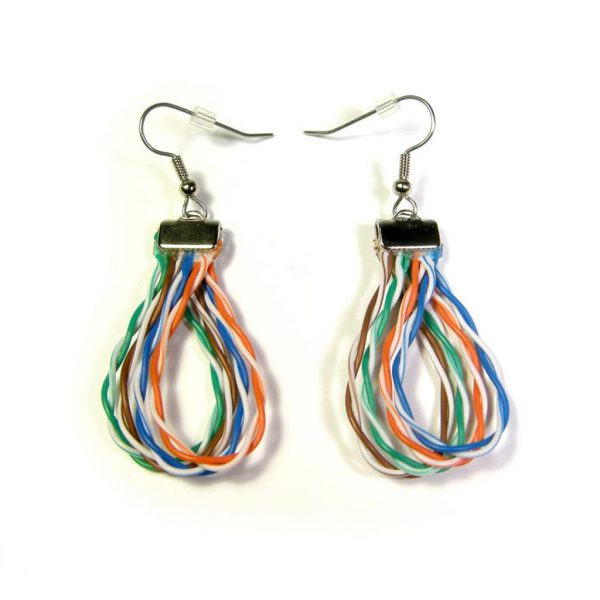 Cat 5 Earrings